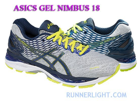 Asics Gel Nimbus 18 running shoes review   comparison 57921fa9a5