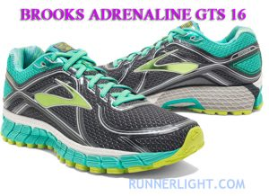 Brooks Adrenaline GTS 16 running shoes review