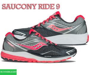 Saucony Ride 9 running shoes review