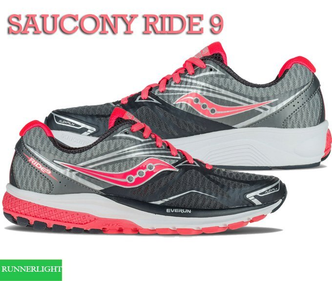Saucony Ride 9 running shoes