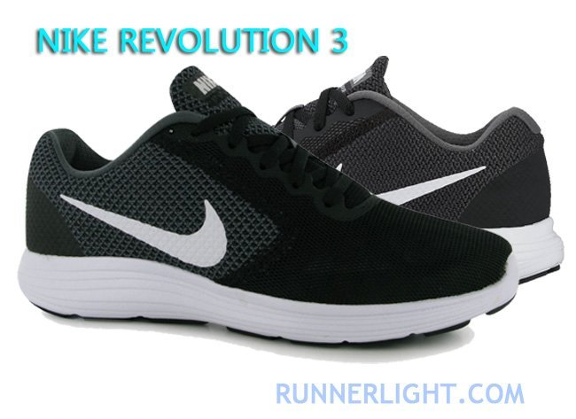 nike revolution 3 vs flex experience