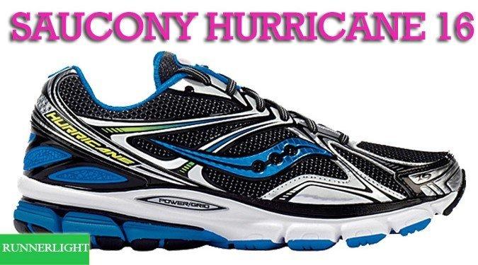 Saucony Hurricane 16 shoes