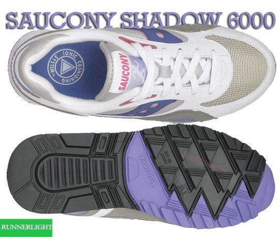 Saucony Originals Shadow 6000 fit