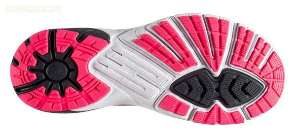 Brooks PureCadence 5 womens outsole