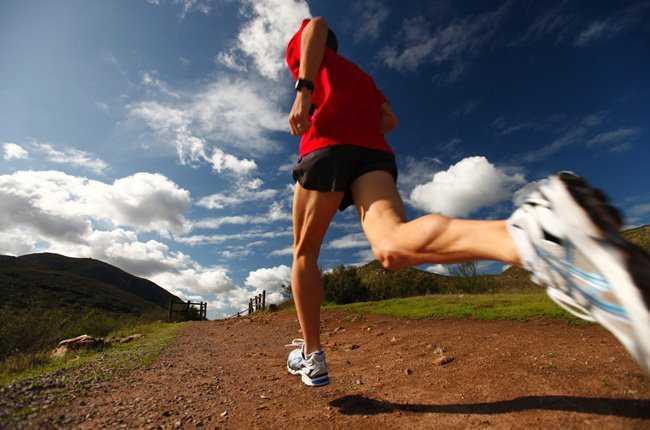 runner Run on Dirt Road 2