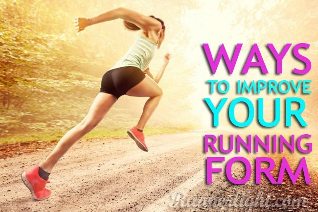 ways to improve running form