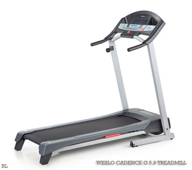 Weslo Cadence G 5.9 Treadmill for runners
