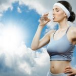 drink water frequently when running