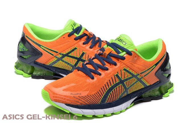 asics gel kahana 7 orange