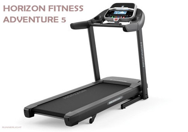 Horizon Fitness Adventure 5 treadmill all
