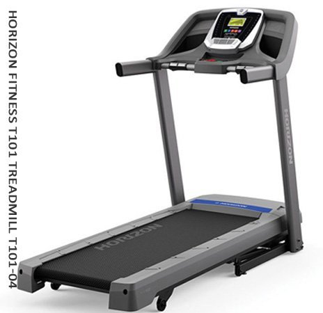 Horizon Fitness T101 Treadmill T101 - 04