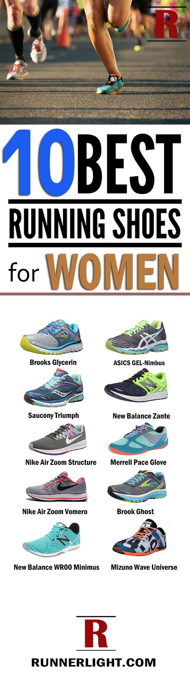 10 Best running shoes for women
