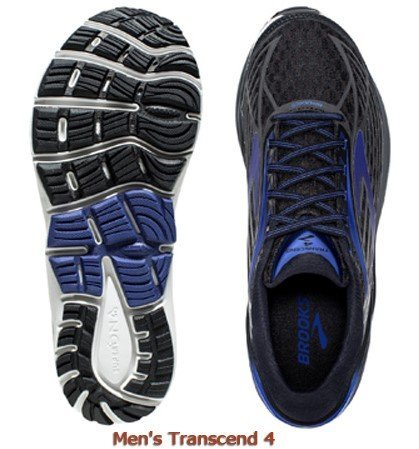 b609319c603 Brooks Transcend 4 Running Shoes Review   Comparison