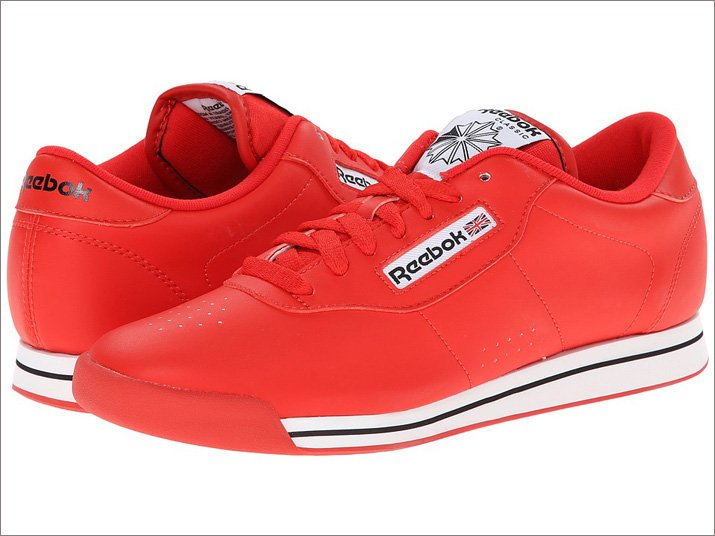 Reebok Womens Princess Sneaker