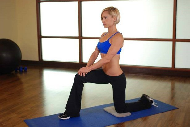 The kneeling hip flexor