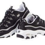 Skechers Sport Womens DLites Memory Foam Lace-up Sneaker