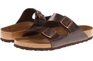 1 birkenstock arizona unisex leather sandal