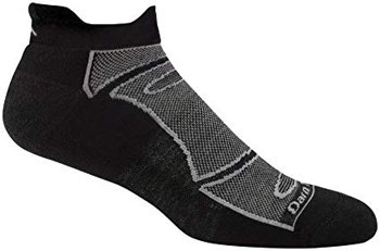 Darn Tough Men's Merino Wool No-Show Light Cushion Athletic Socks